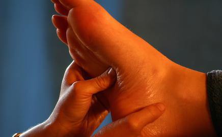 Fußrefelexzonenmassage - Fußreflexzonentherapie